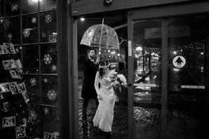 White, Custom Long-Sleeve Wedding Dress