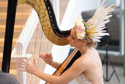 Michelle Campbell - Harpist