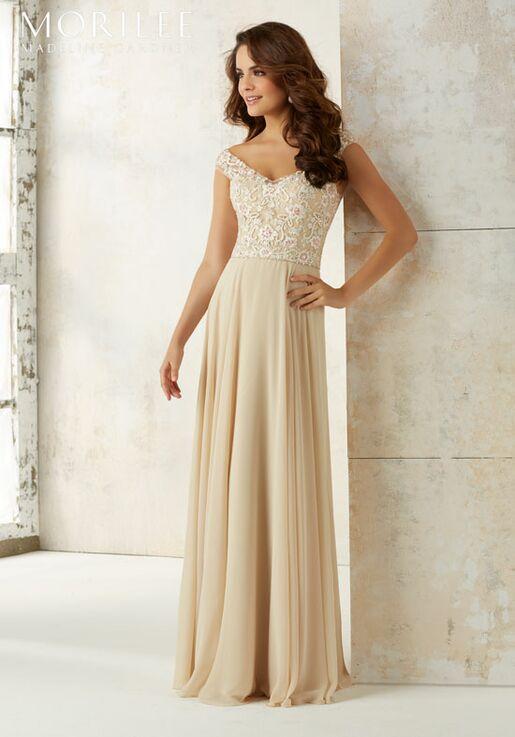 aaa90204ee Morilee by Madeline Gardner Bridesmaids 21504 Off the Shoulder Bridesmaid  Dress