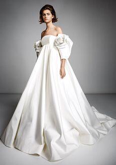 Viktor&Rolf Mariage ROSE SLEEVE EMPIRE GOWN Ball Gown Wedding Dress