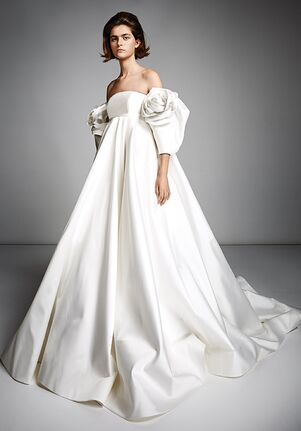 Viktor&Rolf Mariage ROSE SLEEVE EMPIRE GOWN Ball Gown Wedding Dress