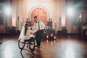 Romantic First Dance at Madera Estates in Conroe, Texas