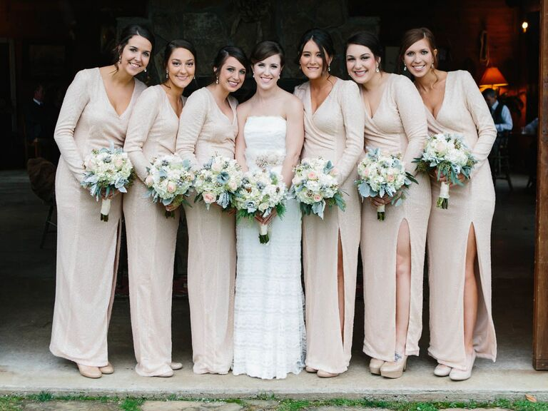 12 Winter Wedding Bridesmaid Dresses You Ll Love