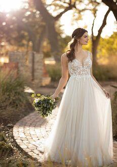 Essense of Australia D2523 A-Line Wedding Dress