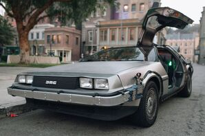 Retro Car from Back to the Future