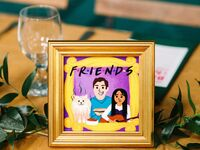friends themed wedding