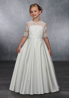 Mary's Angel by Mary's Bridal MB9039 White Flower Girl Dress