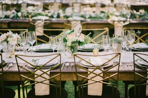Rustic, Elegant Outdoor Reception