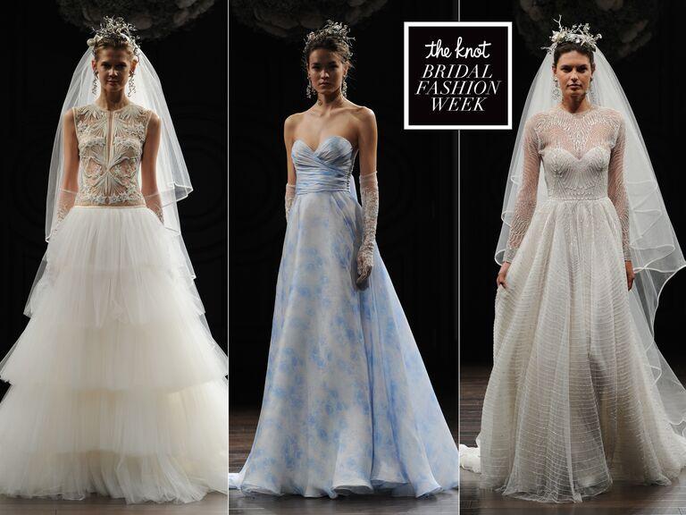 Naeem Khan S Intricate Designs Hit Bridal Fashion Week