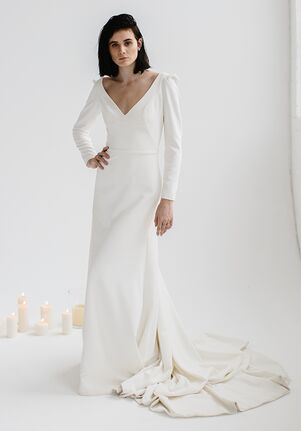 ea0c6f78efd2 KAREN WILLIS HOLMES Aubrey Mermaid Wedding Dress