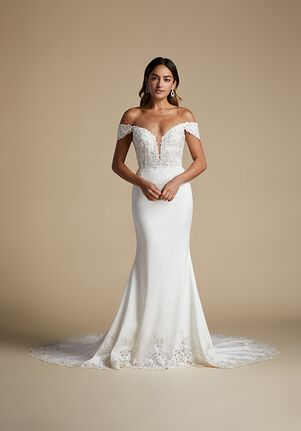 Lucia by Allison Webb 92105 Cara Sheath Wedding Dress