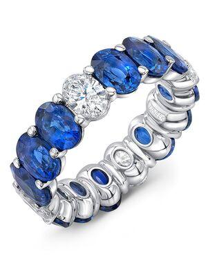 Uneek Fine Jewelry ETOVBSD White Gold Wedding Ring