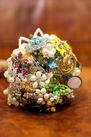Colorful Bouquet of Keepsake Brooches