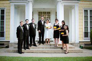 Black Formal Wedding-Party Attire