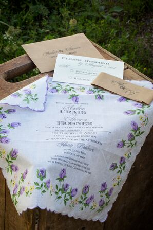 Handkerchief Invitations