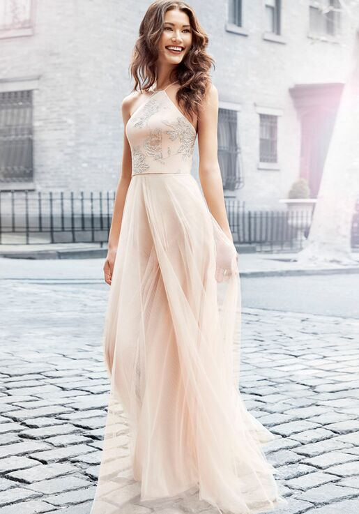 316398fd88 Hayley Paige Occasions 5718 Bridesmaid Dress The Knot