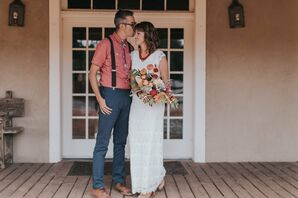 Eclectic, Relaxed Wedding in New Mexico