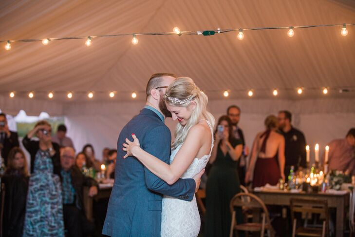 First Dance at August C. Wuillermin Farms