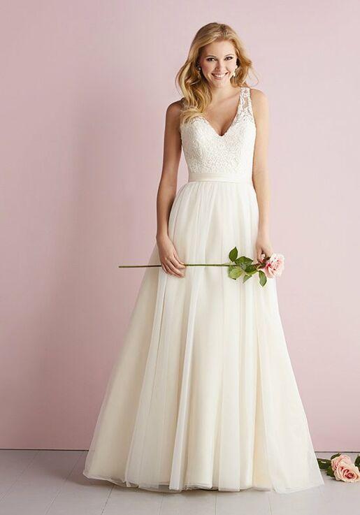 7283d3033d68 Allure Romance 2716 Wedding Dress | The Knot