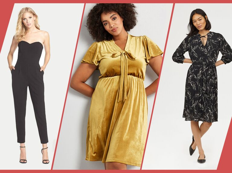 26e6cc512cf What to Wear to a Winter 2019 Wedding  65 Guest Dresses