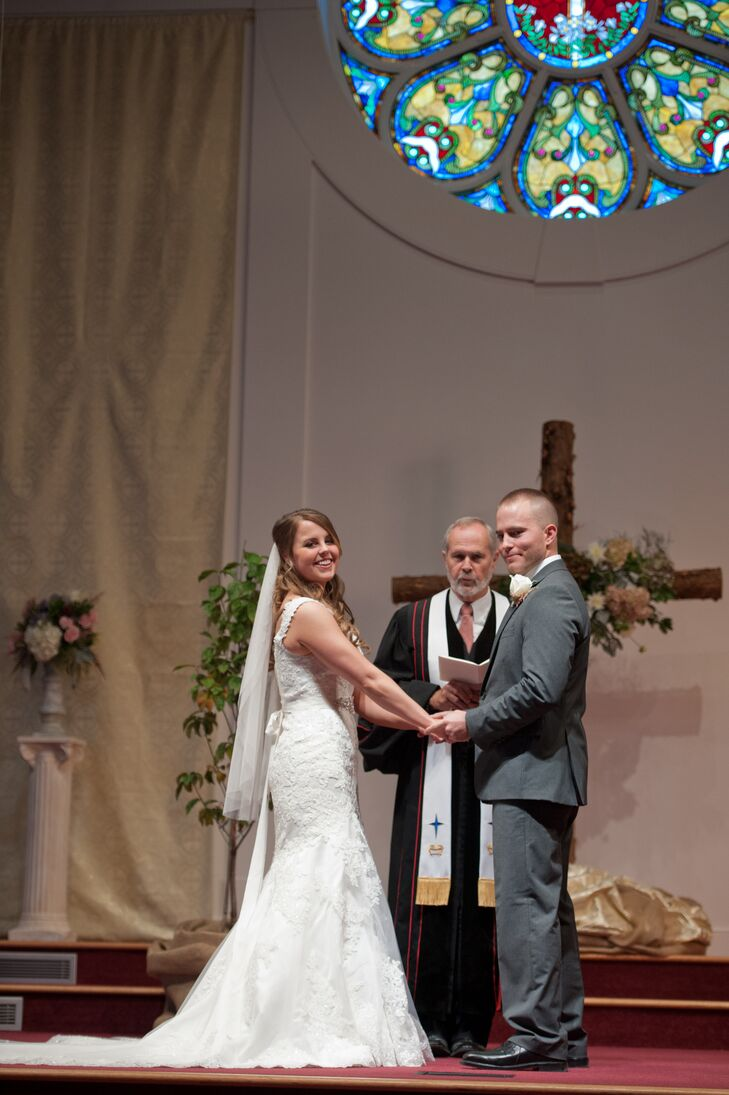 Marlee and Michael were married at the Mountain View United Methodist Church in Forest, Virginia. This is the church Marlee's parents belong to and that Marlee grew up attending.