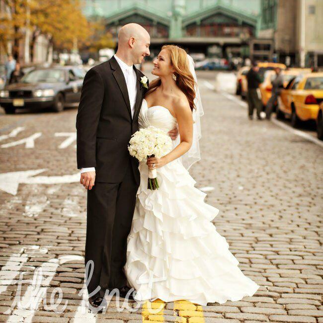 A Glamorous Formal Wedding In Jersey City, NJ