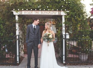 Wanting their wedding to be simple and ultra-personalized (while keeping to a tight budget!), Sarah Johnson (25 and works in project management) and A