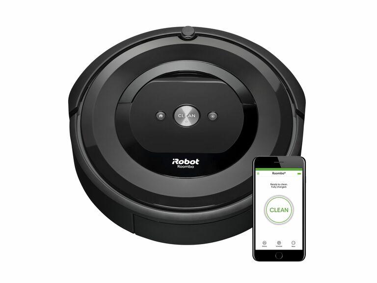 Roomba smart vacuum and iRobot app