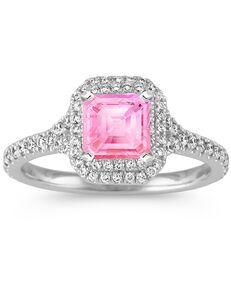 Shane Co. Glamorous Emerald Cut Engagement Ring