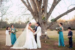 Chante and Crystal's Georgia Vineyard Ceremony