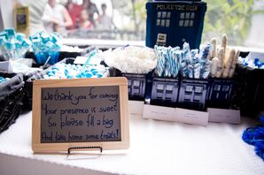 Dr. Who Themed Candy Bar