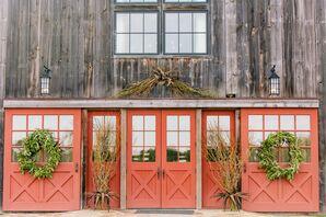 Fall Sandy Creek Barn Reception