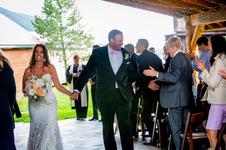 Amy and Mark Recessional