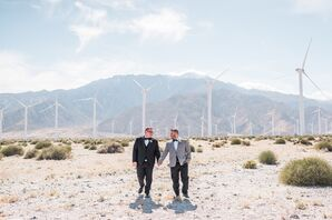 Grooms at Riviera Palm Springs in California