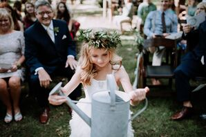 Flower Girl Watering Can