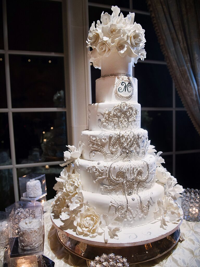 Beautiful Wedding Cakes With Bling