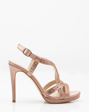 LE CHÂTEAU Wedding Boutique SHOES_362367_786 Black, Pink, Champagne Shoe
