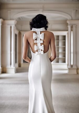 Viktor&Rolf Mariage BOW SPINE FIT AND FLARE Mermaid Wedding Dress