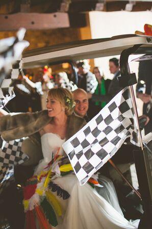NASCAR-Themed Exit