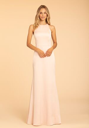 Hayley Paige Occasions 52003 Halter Bridesmaid Dress