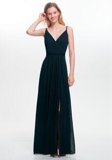#LEVKOFF 7021 V-Neck Bridesmaid Dress