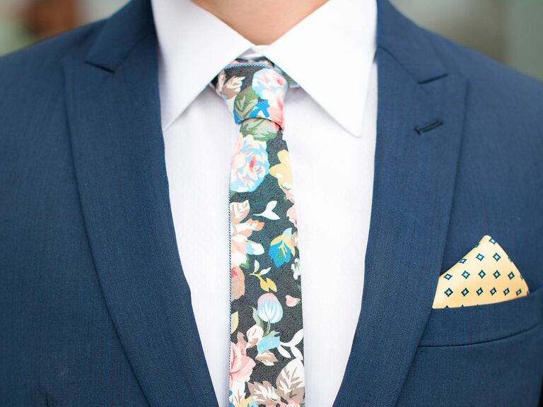 751e637e3009 Menswear suit with tie and pocket square