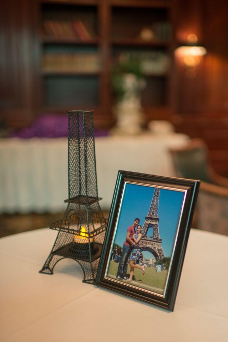 Eiffel Tower Tea-Light Candle Holder