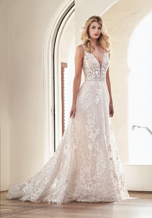 Jasmine Collection F211065 Ball Gown Wedding Dress