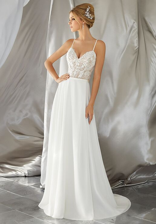 Morilee by Madeline Gardner/Voyage Mina | Style 6861 A-Line Wedding Dress