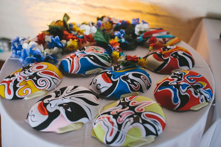 Traditional, Colorful Chinese Masks