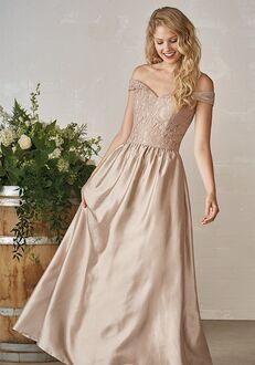 JASMINE P206013 Off the Shoulder Bridesmaid Dress