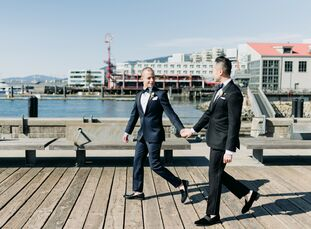 Shortly before Vancouver shut down all social gatherings due to COVID-19, Vance Ng and Ben Klempner were able to celebrate their love and marriage wit