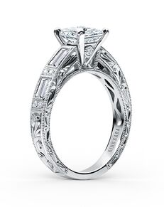 Kirk Kara Classic Princess Cut Engagement Ring