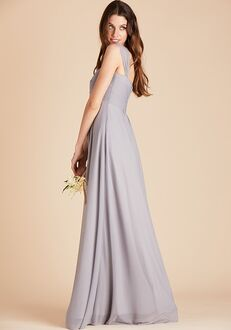 Birdy Grey Maria Convertible Dress in Silver Sweetheart Bridesmaid Dress
